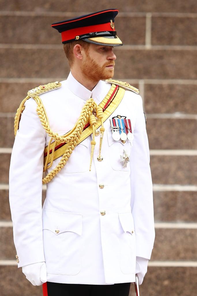 October: He Became the Queen's Personal Aide-de-Camp