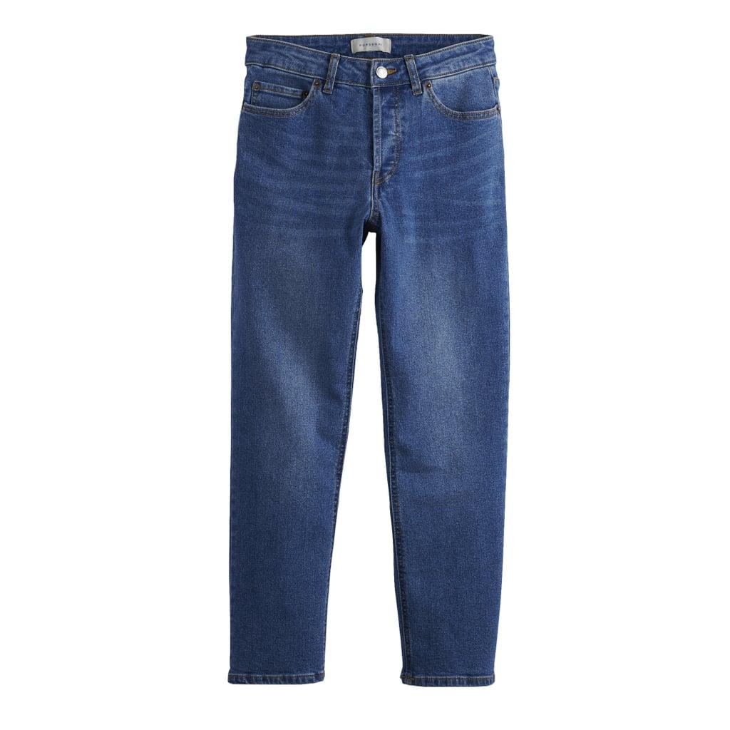 POPSUGAR Straight-Leg Midrise Jeans