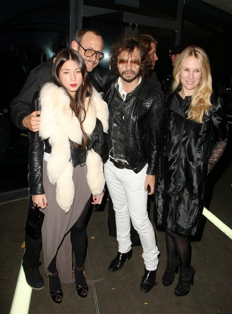 Jen Brill, Terry Richardson, Olivier Zahm.