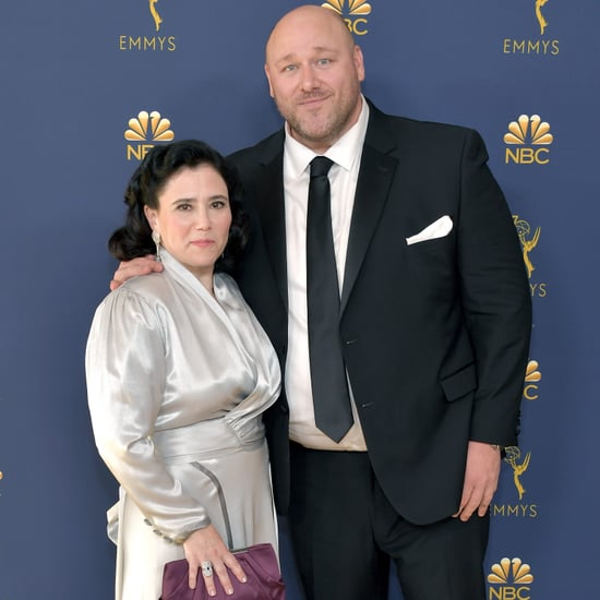 Alex Borstein and Will Sasso at the Emmys 2018