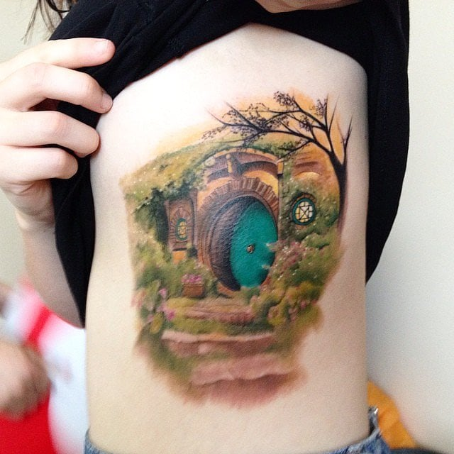 The Hobbit And The Lord Of The Rings Trilogy J R R Tolkien Literary Quote Tattoos Popsugar Australia Love Sex Photo 16
