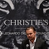 Leonardo DiCaprio at Christie's Art Auction | Pictures