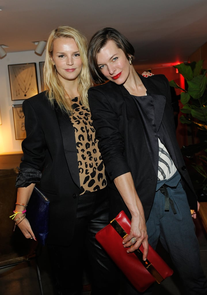 Kelly Sawyer helped Milla Jovovich and Isabel Marant fete the label's LA shop.
