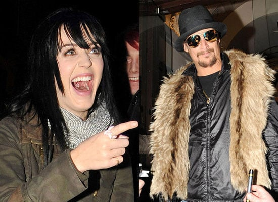 Photos of Katy Perry and Kid Rock in Liverpool Ahead of the MTV Europe Music Awards