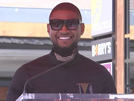 WATCH: Usher Gives His Fans a Job After Receiving His Star on the Hollywood Walk of Fame