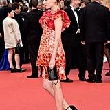 Clémence Poésy Held Onto Her Dainty Chanel Bag