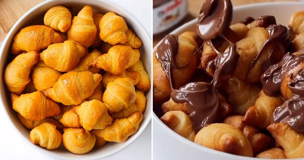People Are Making Croissant Bites Stuffed With Nutella, Because Breakfast Is Best Served Sweet