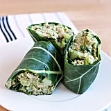 Tuna Salad Collard Wraps