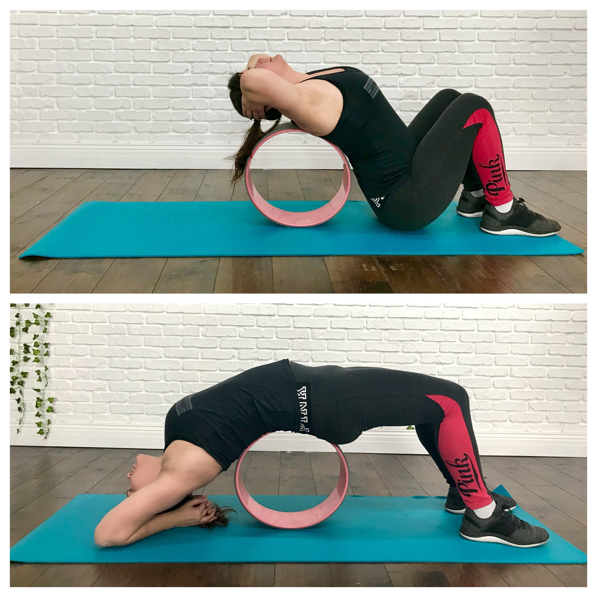 How To Use A Yoga Wheel Popsugar Fitness Middle East