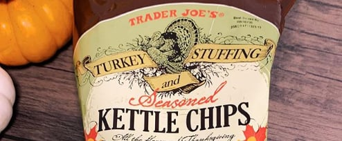 Turkey and Stuffing Chips From Trader Joe's
