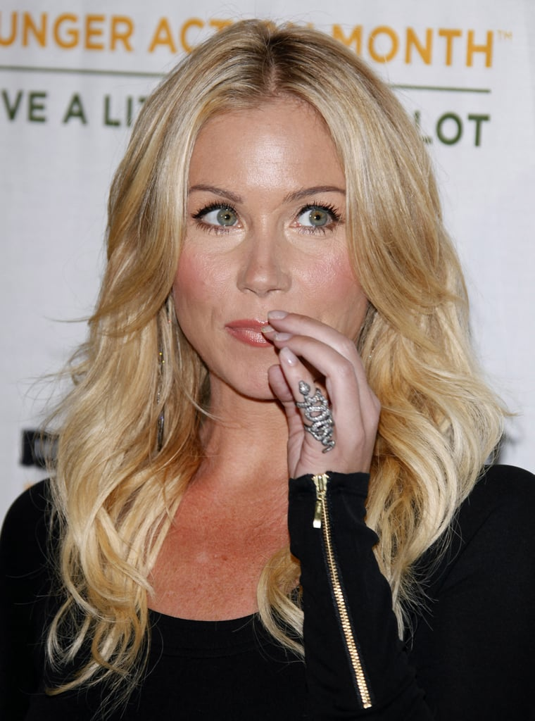 Christina Applegate Celebs Wearing Pinky Rings