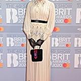 Celeste at the 2020 BRIT Awards in London