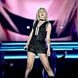 Taylor Swift at Formula 1 United States Grand Prix