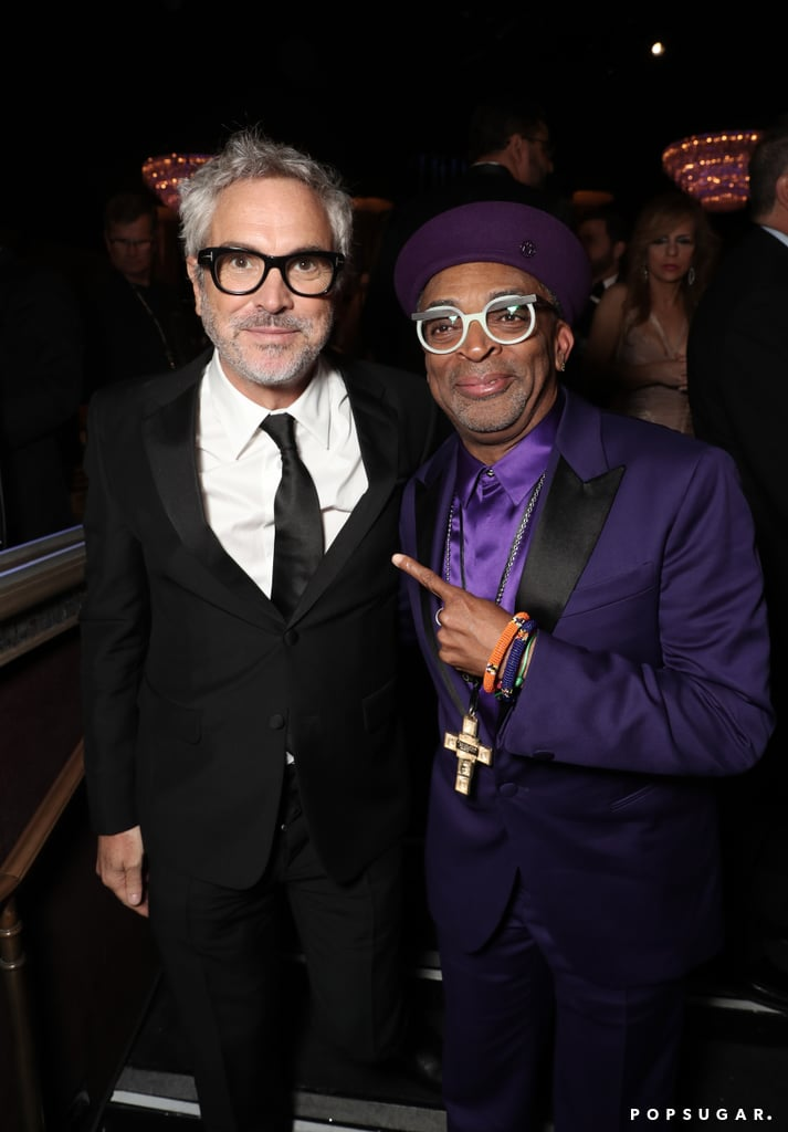 Pictured: Alfonso Cuaron and Spike Lee