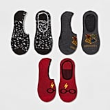 Harry Potter 3pk Liner Casual Socks