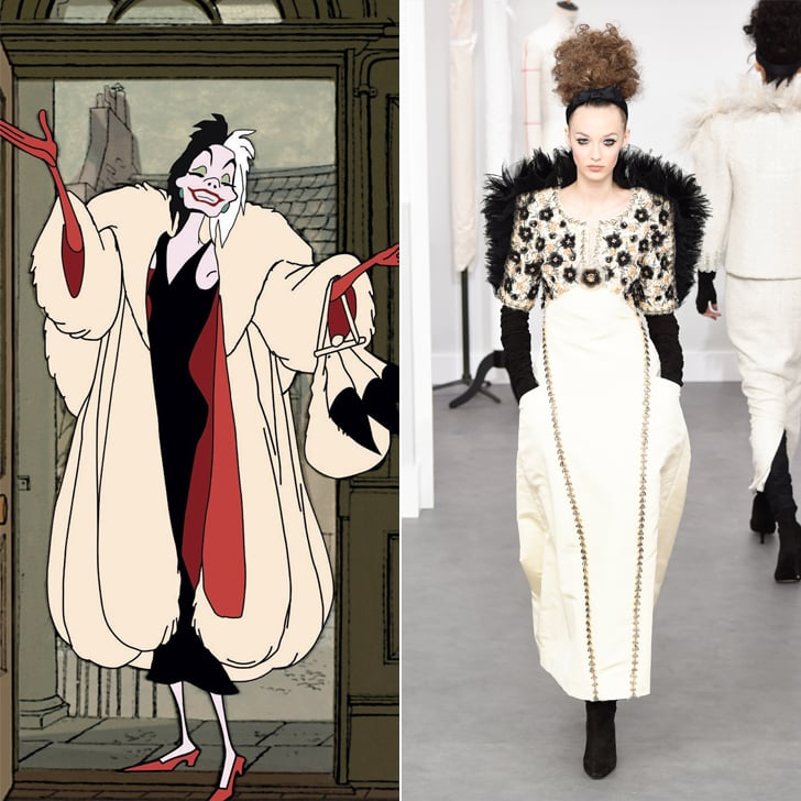 Cruella de Vil in Chanel Haute Couture