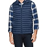 Men's Lightweight Water-Resistant Packable Down Vest