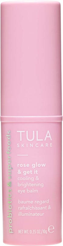 Best Eye Cream For Discoloration: Tula Rose Glow & Get It Cooling & Brightening Eye Balm
