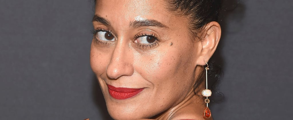 Tracee Ellis Ross Wears Red Lipstick to the Gym Because She's Never Not Fabulous