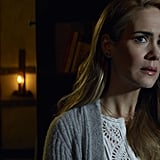 "Paulson as ""Shelby"" aka Audrey Tindall on Roanoke"