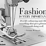 The importance of being fashionable.