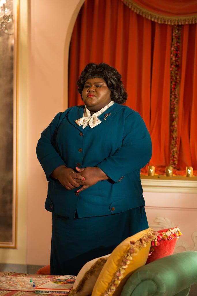 Sidibe as Regina Ross in Freak Show