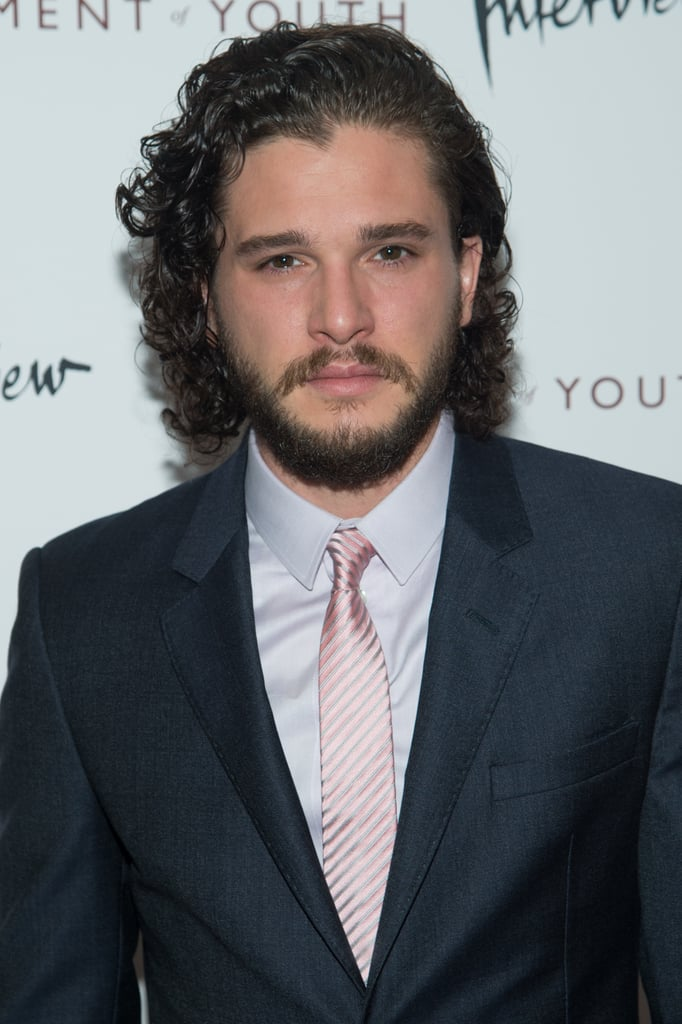 Kit Harington may play the saddest, sexiest guy in the Seven Kingdoms on Game of Thrones, but he suited up and flashed a smile when he stepped out on Tuesday. The actor stars in Testament of Youth opposite actress Alicia Vikander, and the pair hit the red carpet together for the film's premiere in NYC this week. Kit grinned as he and Alicia mingled and posed for pictures, later showing off his signature smoulder. Keep reading for the best pictures from the premiere, then check out Kit's best smiley moments plus some photos of the actor that may just leave you weak in the knees.