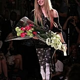 Avril Lavigne at her Abbey Dawn presentation.