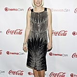 Anna Faris accepted the comedy star of the year award at the CinemaCon awards ceremony in Las Vegas.