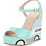 Kate Spade Dotty Ice Cream Wedge Sandal