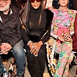 Pictured: Naomi Campbell and Sita Abellan
