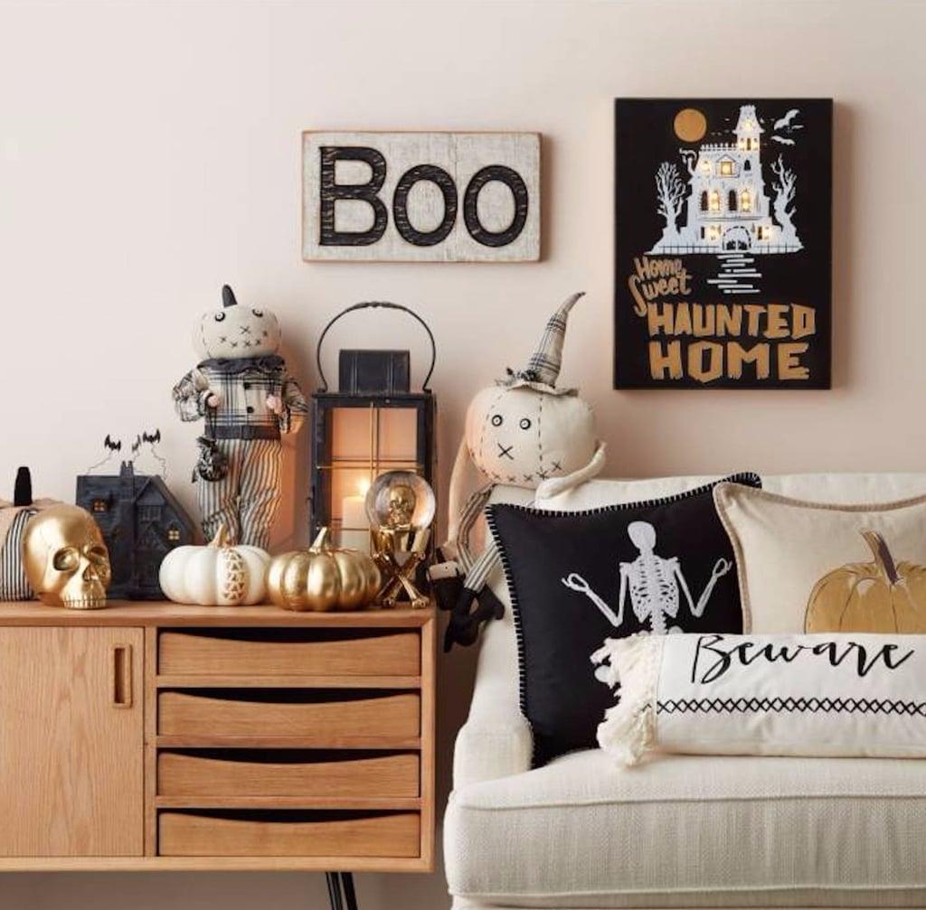 best halloween decorations popsugar home pottery barn - Pottery Barn Halloween Decor