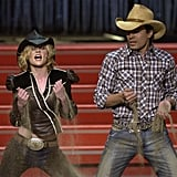 Jimmy Fallon and Kirsten Dunst, 2001
