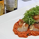 Scallops With Romesco