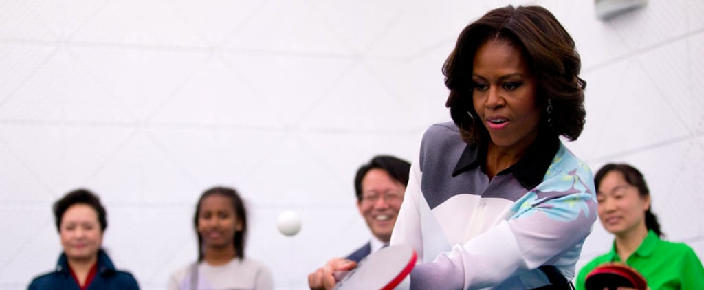 32 Pictures of Michelle Obama Looking as Down to Earth as Ever
