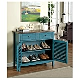 Sun and Pine Tawnya Country-Style 2-Drawer Cabinet