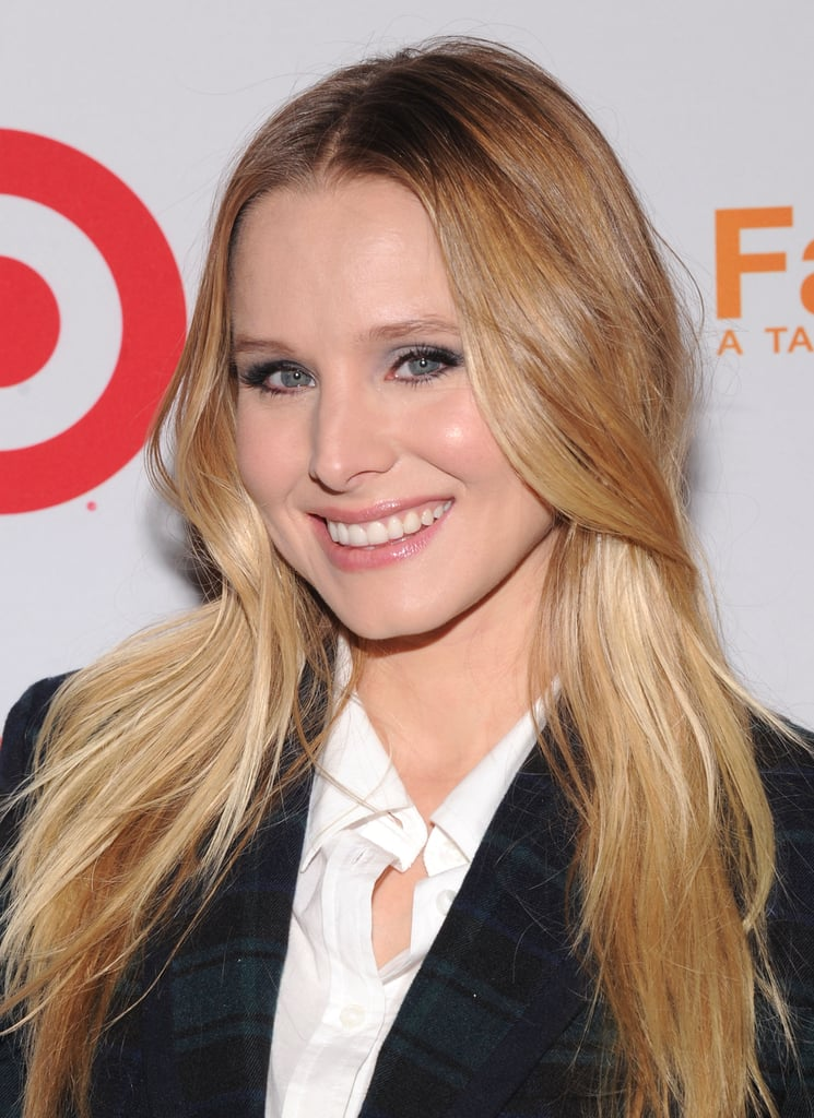 Kristen Bell had a smile on her face for the Target party in NYC.