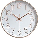Jomparis Modern Wall Clock Silent Operated Wall