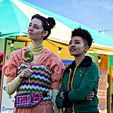 Tanya Reynolds as Lily and Patricia Allison as Ola