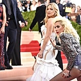 Pictured: Kate Hudson and Lady GaGa