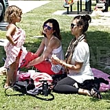Jessica Alba and Honor Share Their Park Day With Eric Dane, Rebecca Gayheart, and Billie