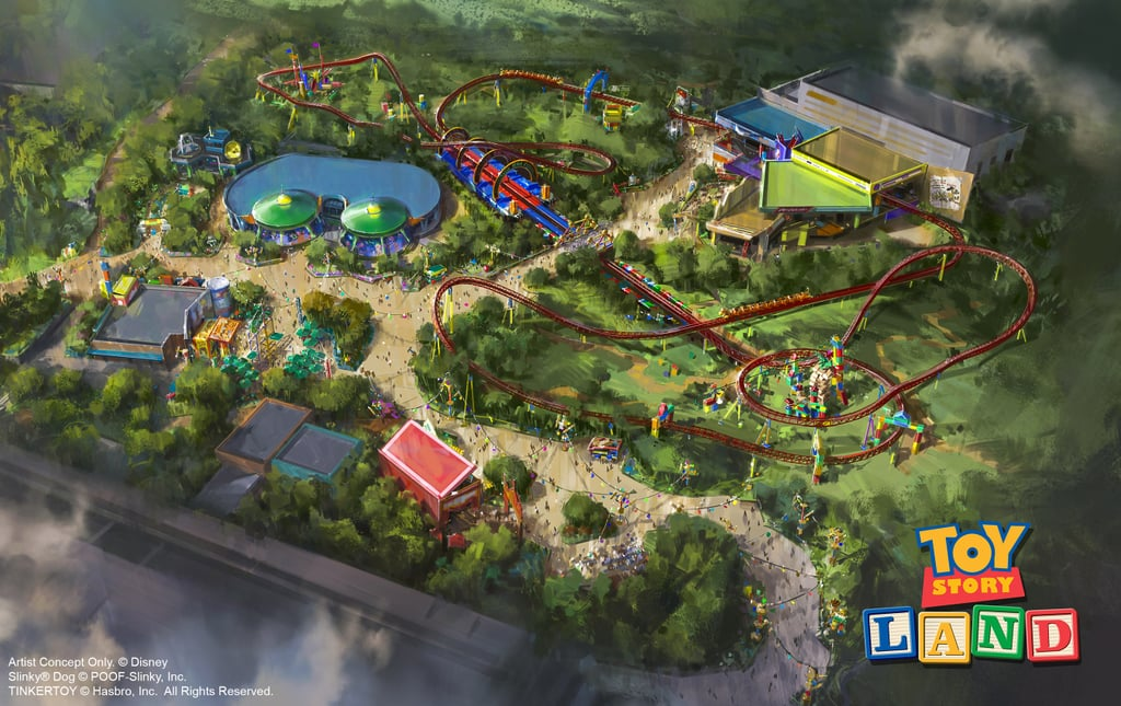 An Overview of Toy Story Land