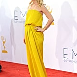 Claire Danes in Yellow Lanvin Dress at Emmys 2012 | Pictures