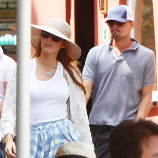 Pictures of Blake Lively and Leonardo DiCaprio in Portofino