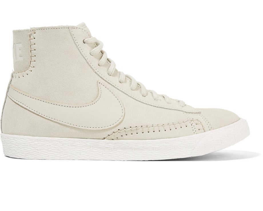 High On Top Suede And Sneakers Shearling Nike Blazer 0qxgvIwWz