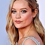 Laura Whitmore's Side-Swept Beachy Waves