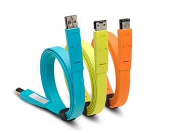 LaCie's New Flat Cables: Cheap And Colorful