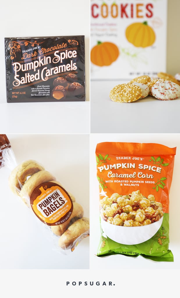 Trader Joe's Pumpkin Spice Flavored Products | 2016