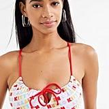 Lolli x Hello Kitty UO Exclusive Kitten Tie Bikini Set