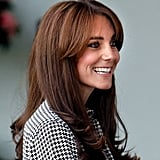 Kate Middleton's Superlong Shag Hairstyle, 2015